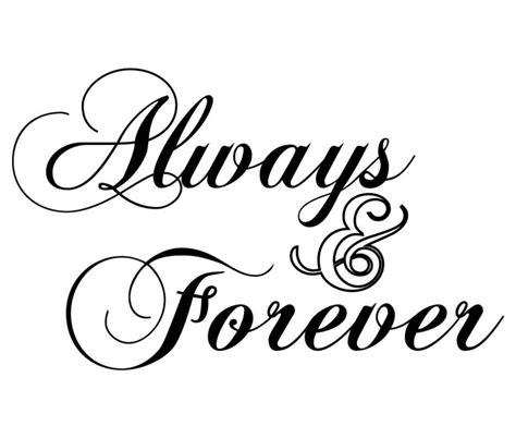 Always & Forever Acrylic Cake Topper