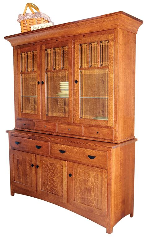 amish hutch mission bellingham hutch from dutchcrafters amish furniture