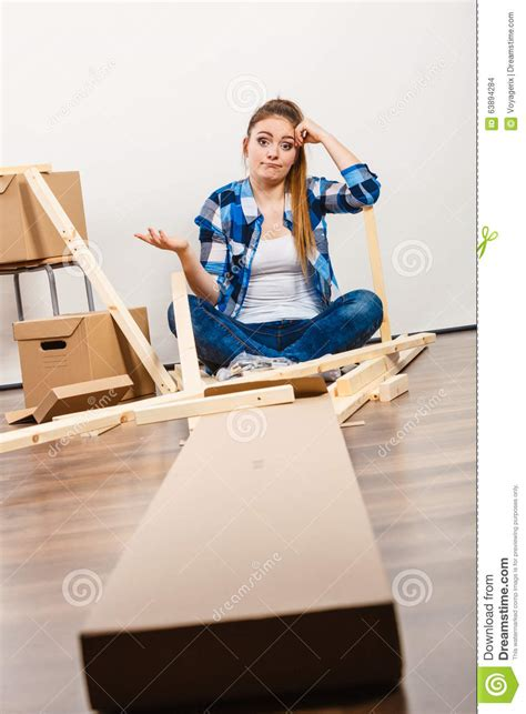 helpless moving  apartment assembly furniture stock