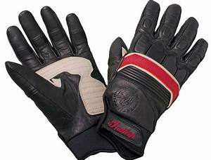 NEW INDIAN MOTORCYCLES RETRO BLACK LEATHER GLOVES GENUINE ...