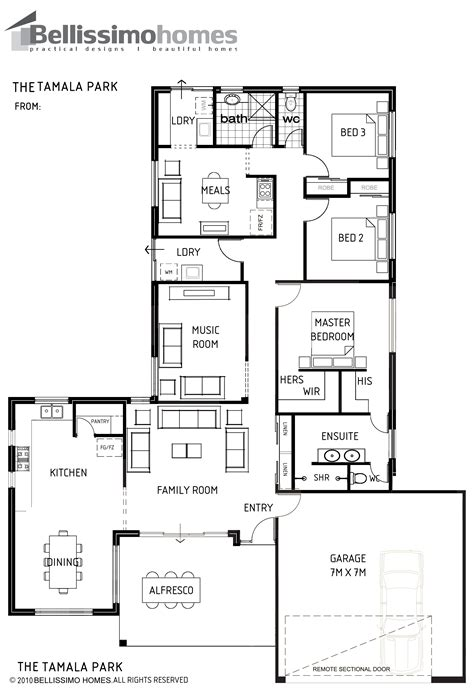 photo of single home floor plans ideas single storey bellissimo homes house designs new home