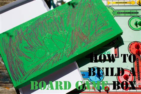 board game storage build  board game box