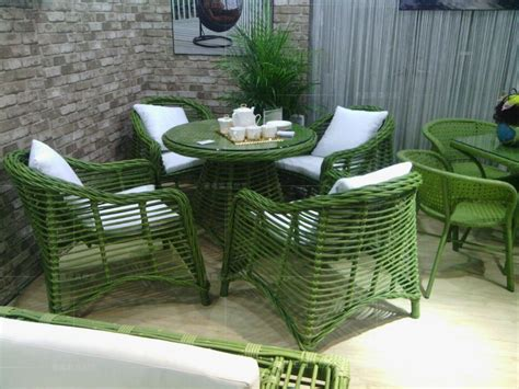 stylish coffee table and chairs anti bamboo wicker chairs