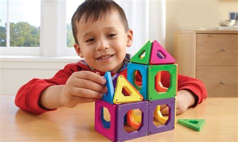 Discovery Magnetic Tiles by Discovery Magnetic Tiles Groupon Goods