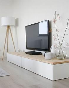 Tv Lowboard Ikea : houten planken voor ikea besta kasten meteen mooier ~ A.2002-acura-tl-radio.info Haus und Dekorationen