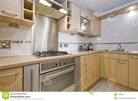 prix element de cuisine cuisine avec l 39 élément en bois dur image stock image du