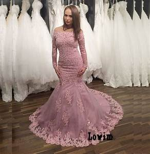 trouwjurken 2016 pink long sleeves colored wedding dresses With long sleeve pink wedding dresses