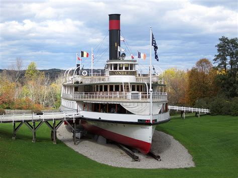 Boat Launch Steamboat by Ticonderoga Steamboat