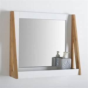 miroir salle de bain le guide ultime With salle de bain design avec tablette murale décorative