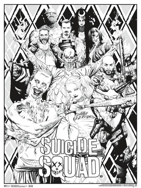 suicide squad coloring pages coloring home