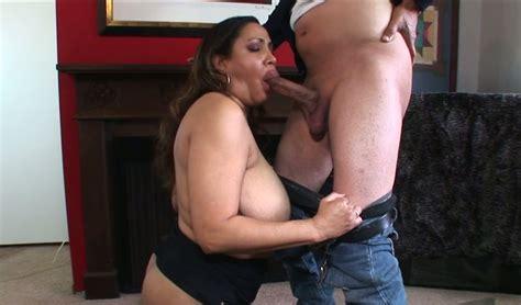 Chubby Brazilian Mom With Huge Tits Kira B Swallows Hard
