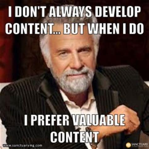 Marketing Meme - best content marketing memes power content