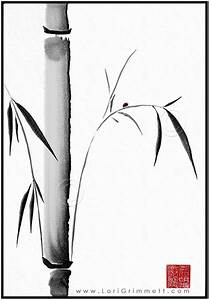 Sumi E Painting Bamboo - Defendbigbird com