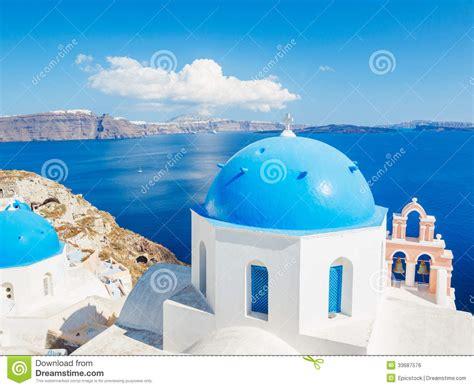 Santorini Island Greece Royalty Free Stock Image Image