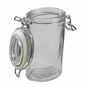 Bocaux à épices : pot pices ovale en verre erzo les bocaux et boites ~ Teatrodelosmanantiales.com Idées de Décoration