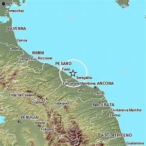 Scossa di terremoto al largo di Marotta Mondolfo Occhio alla Notizia