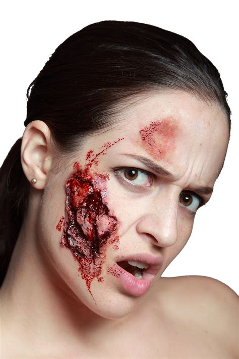 schaurige bissverletzung horror   haut guenstige