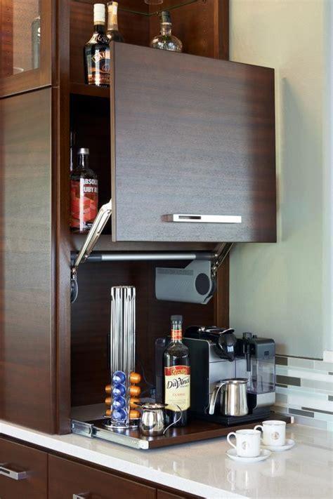 Beverage Center in Contemporary Kitchen   HGTV