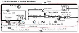 Operation And Repair Method Of Fan Type Frozen Refrigerator