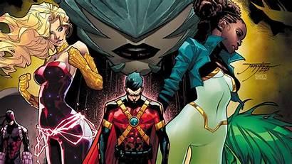 Titans Teen Raven Dc Comics Jorge Jimenez