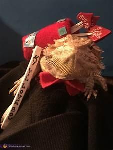 Cupid Bearded Dragon Costume - Photo 2/4