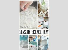 Growing Crystal Evergreens Science and Winter Themed