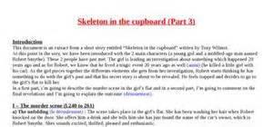 rsum skeleton in the cupboard tony wilmot explication texte skeleton in the cupboard part 3