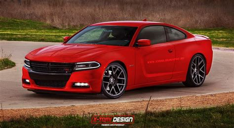 Two Door Dodge Charger by 2015 Dodge Charger Coupe Rendered