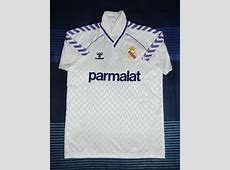 Real Madrid Home football shirt 1986 1988 Added on 2012