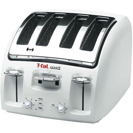 tfal avante toaster t fal avante 4 slice toaster ᅡᅠwhite walmart