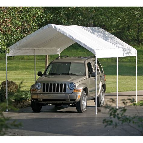 Car Tents by Shelterlogic 10 Ft X 20 Ft Max Ap Canopy