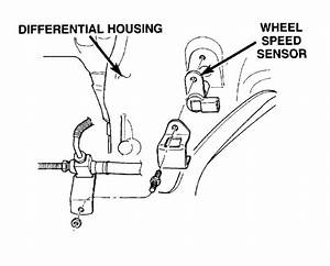 Abs Sensor Location On A Dodge Durango 2006