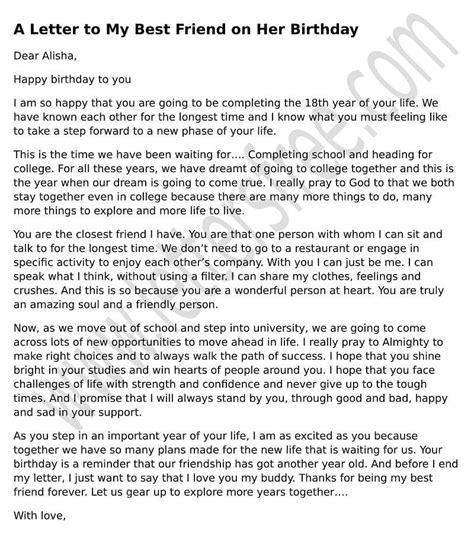 open letter to my best friend happy birthday letter to my best friend