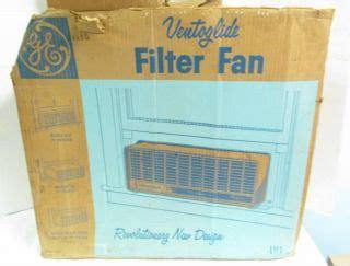 window fan with filter vintage 50s general electric ge hassock fan 3 speed dual
