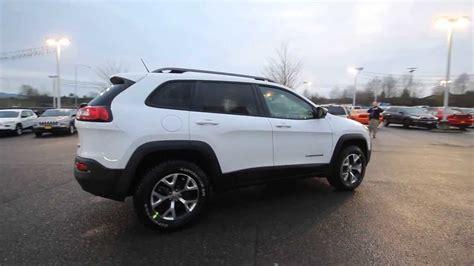 jeep trailhawk 2016 white 2014 jeep cherokee trailhawk white ew159196 everett