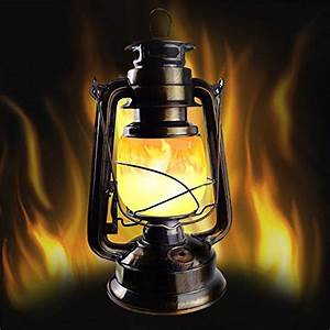 Led, Flickering, Flame, Copper, Vintage, Lantern, With, Efficient