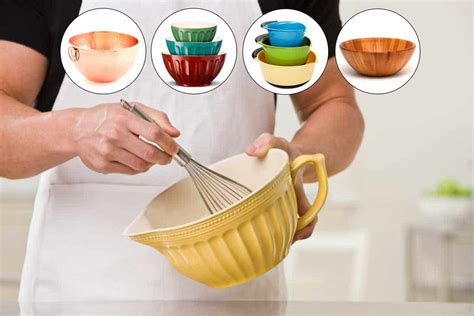 types  mixing bowls    kitchen seer