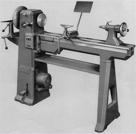 wood lathe headstock assembly