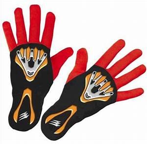Power Rangers - Jungle Fury Red Ranger Gloves