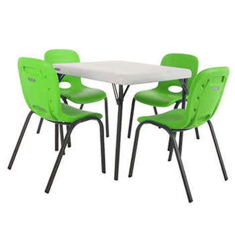 my life as desk and chair set lifetime kids table with 4 lime chairs