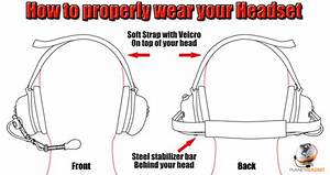 Noise Cancelling Radio Headsets