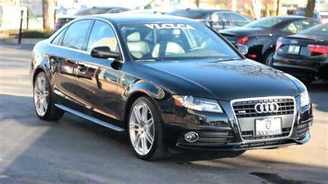 how it works cars 2012 audi a4 auto manual 2012 audi a4 s line village luxury cars toronto youtube