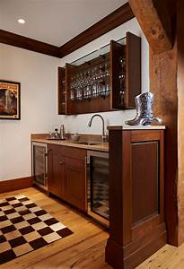Wet Bar Cabinets Kitchen Traditional With Accent Tiles