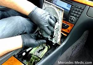 How To Remove Comand Mercedes W211 Remove Shifter Knob  U2013 Mb Medic