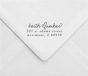 wedding return address stamp great for invitations and With wedding rsvp cards return address