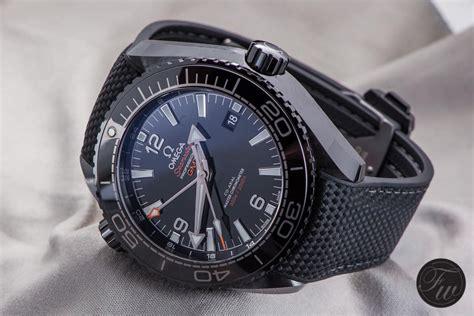 omega seamaster planet black review