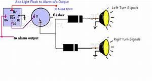 Add Flashing Lights To Alarm