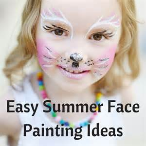 Easy Summer Face Painting Ideas