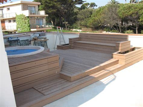 Amenagement De Terrasse Bois by Amenagement Terrasse Bois Terrasse En Bois Et Balcon