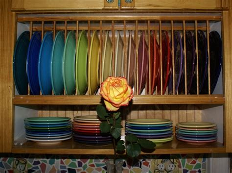fiestaware display ideas images  pinterest fiesta kitchen kitchens  fiesta ware